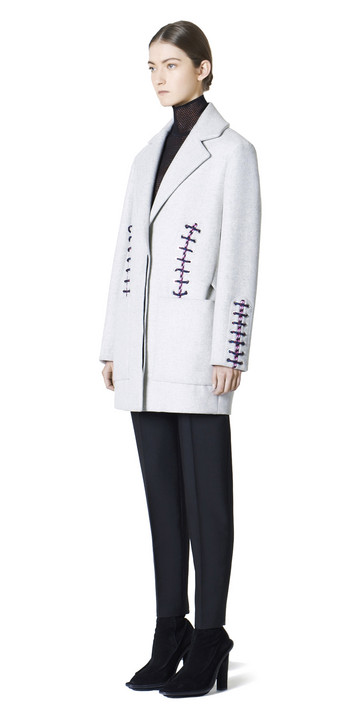 Balenciaga Shoe Lace Coat