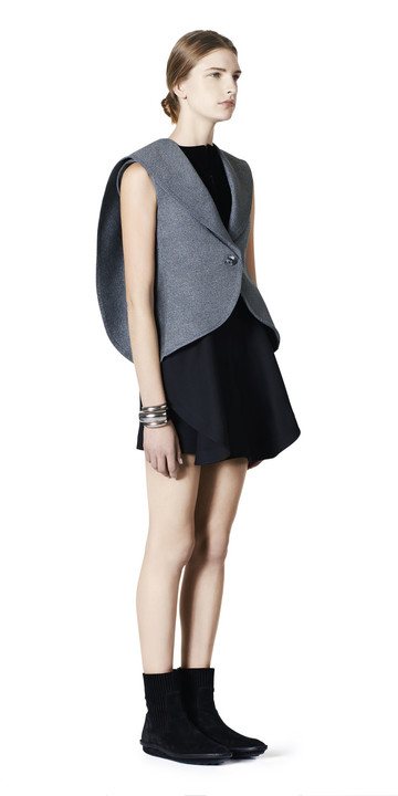 Balenciaga Waisted Sleeveless Jacket
