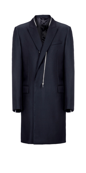 Balenciaga Double Breasted Zipped Coat