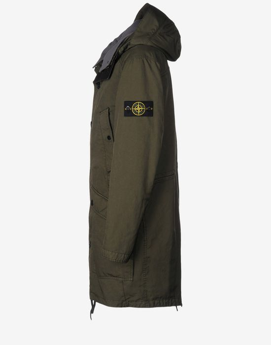 stone island david tc parka garden house lazzerini. Black Bedroom Furniture Sets. Home Design Ideas