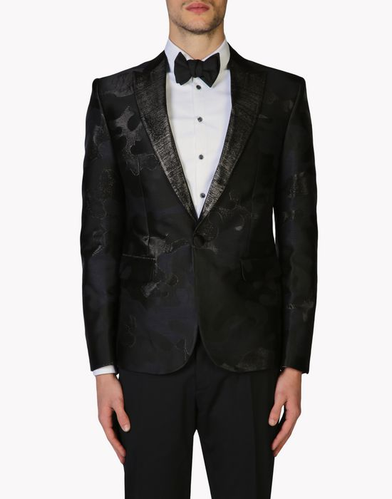 Dsquared2 Camo Tuxedo Jacket Blazers For Men Official