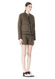 ALEXANDER WANG QUILTED BOMBER JACKET WITH LEATHER DETAIL Jacket Adult 8_n_e