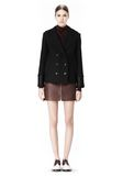 ALEXANDER WANG DOUBLE BREASTED PEA COAT WITH HOOD JACKETS AND OUTERWEAR  Adult 8_n_f