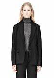 ALEXANDER WANG VACUUM PRESSED BLAZER WITH IRREGULAR PLEATS JACKETS AND OUTERWEAR  Adult 8_n_e