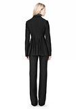 ALEXANDER WANG VACUUM PRESSED BLAZER WITH IRREGULAR PLEATS JACKETS AND OUTERWEAR  Adult 8_n_r