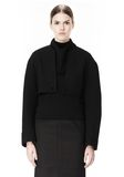 ALEXANDER WANG 2-IN-1 REVERSIBLE DOUBLE BREASTED COCOON COAT JACKETS AND OUTERWEAR  Adult 8_n_a