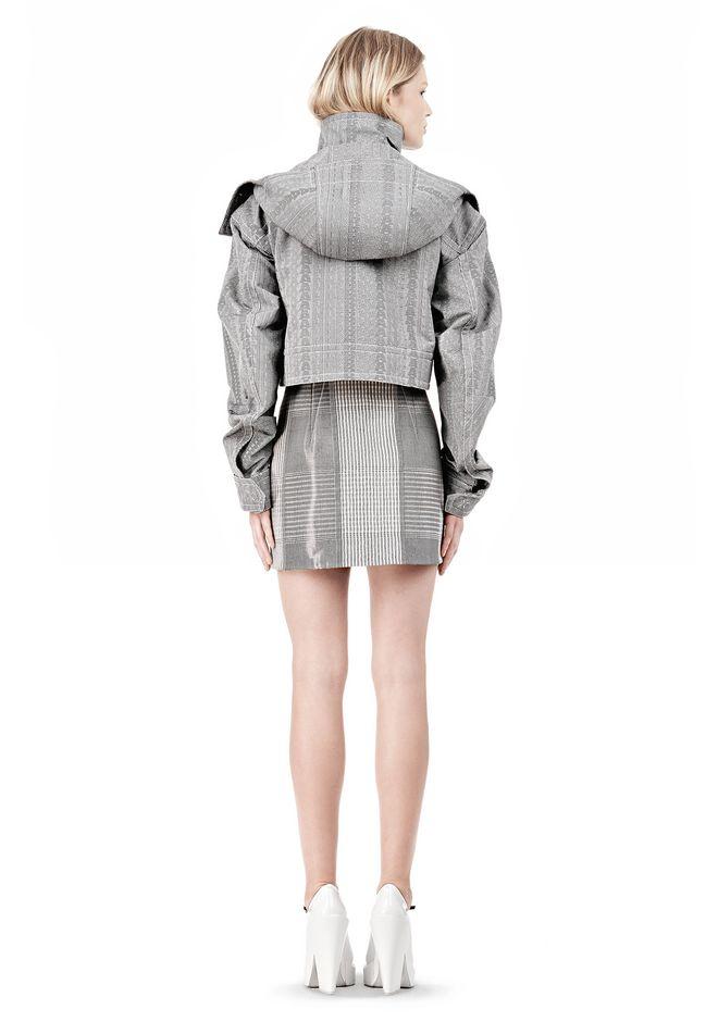 ALEXANDER WANG ASYMMETRIC FRONT PARKA Jacket Adult 12_n_r