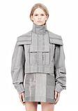 ALEXANDER WANG ASYMMETRIC FRONT PARKA Jacket Adult 8_n_a