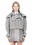 ALEXANDER WANG ASYMMETRIC FRONT PARKA Jacket Adult 8_n_e