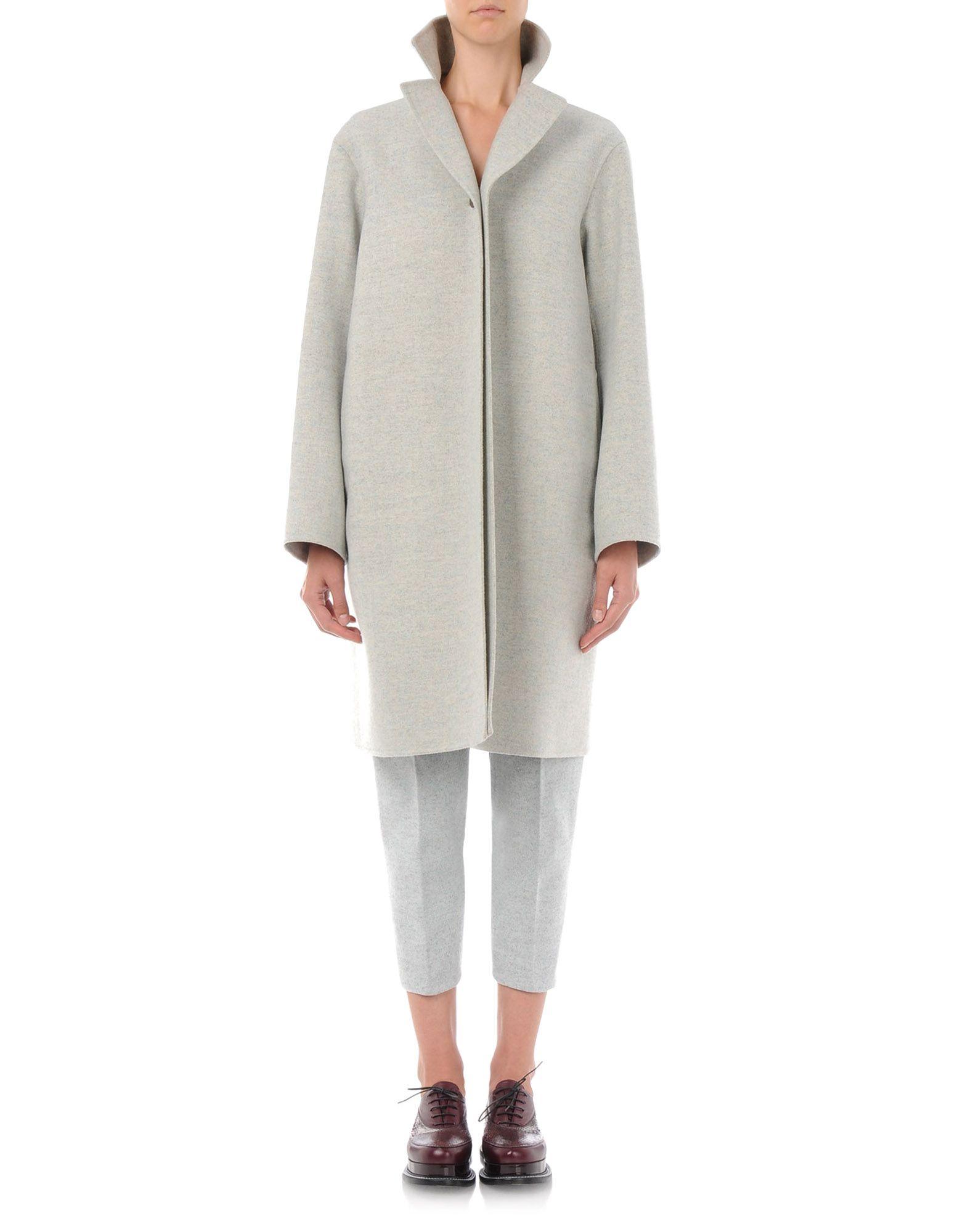 niedrigerer Preis mit Release-Info zu gute Textur Mantel Für Sie - Coats Für Sie auf Jil Sander Online Store
