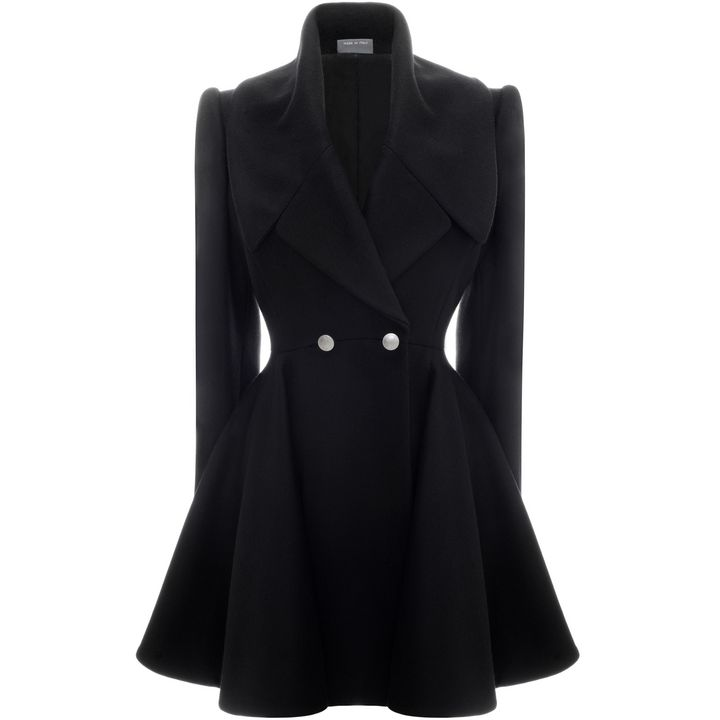 Alexander McQueen, Double Breasted Overcoat