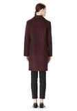 ALEXANDER WANG LOW WAISTED BONDED COAT  JACKETS AND OUTERWEAR  Adult 8_n_r