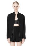 T by ALEXANDER WANG DOUBLE FACE BONDED COLLAR BLAZER JACKETS AND OUTERWEAR  Adult 8_n_d