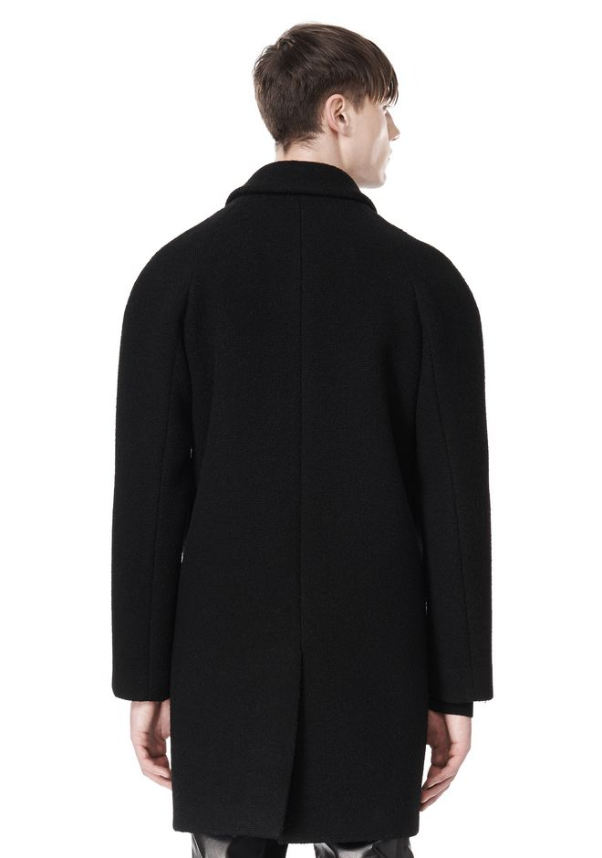 ALEXANDER WANG RAGLAN SLEEVE CARCOAT JACKETS AND OUTERWEAR  Adult 12_n_a