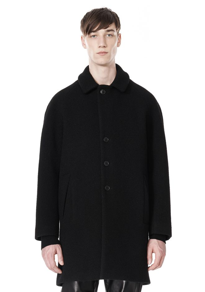 ALEXANDER WANG RAGLAN SLEEVE CARCOAT JACKETS AND OUTERWEAR  Adult 12_n_d