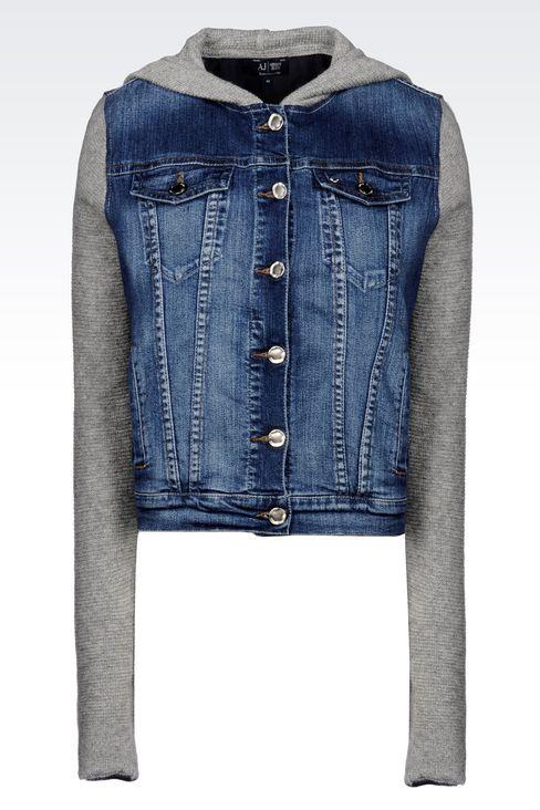 Blouson veste en jean femme