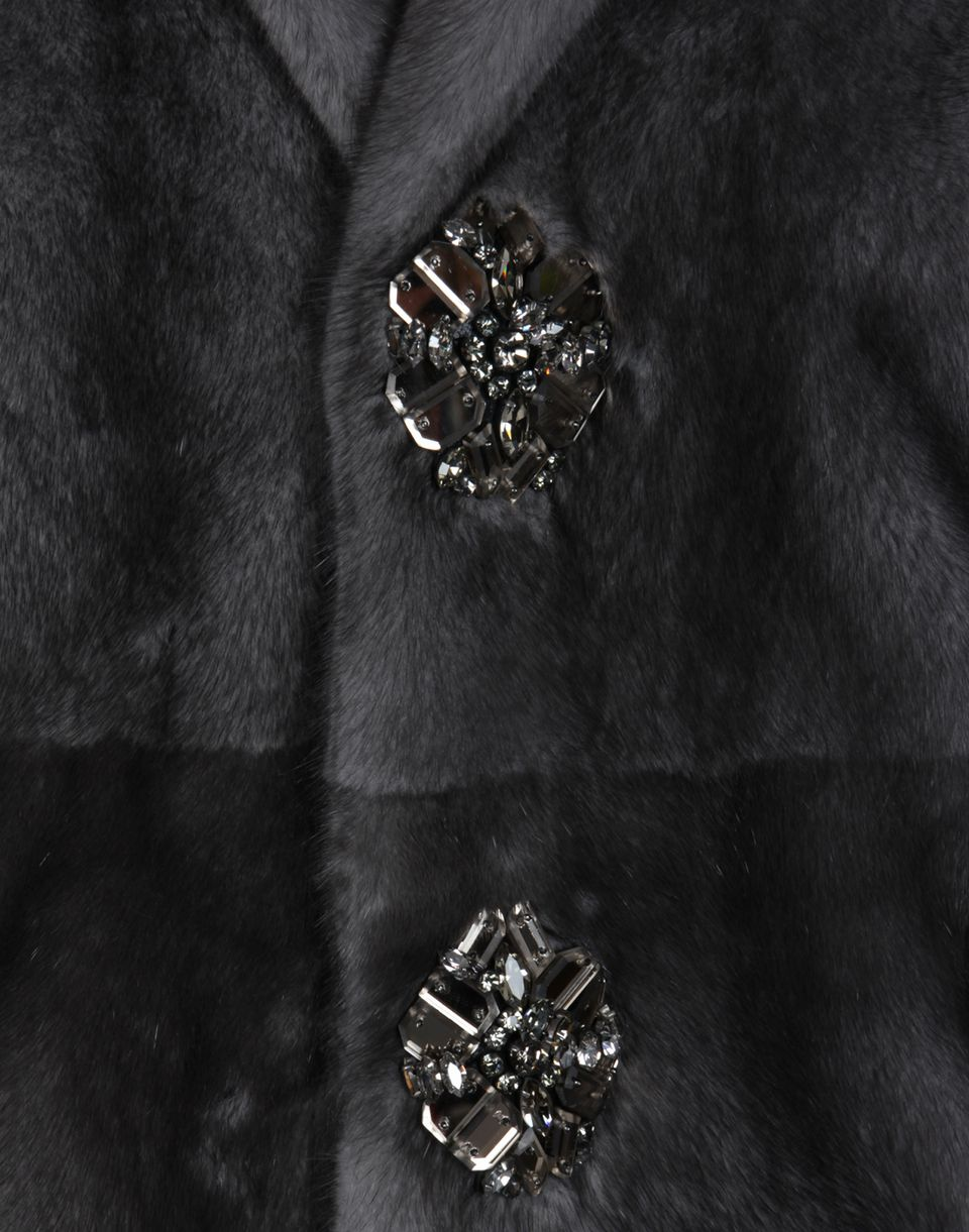 mink fur coat coats & jackets Woman Dsquared2