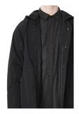 ALEXANDER WANG BASEBALL COAT W/ REMOVEABLE DOWN HOOD PARKA Adult 8_n_a
