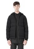 ALEXANDER WANG BASEBALL COAT W/ REMOVEABLE DOWN HOOD PARKA Adult 8_n_e