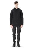 ALEXANDER WANG BASEBALL COAT W/ REMOVEABLE DOWN HOOD PARKA Adult 8_n_f