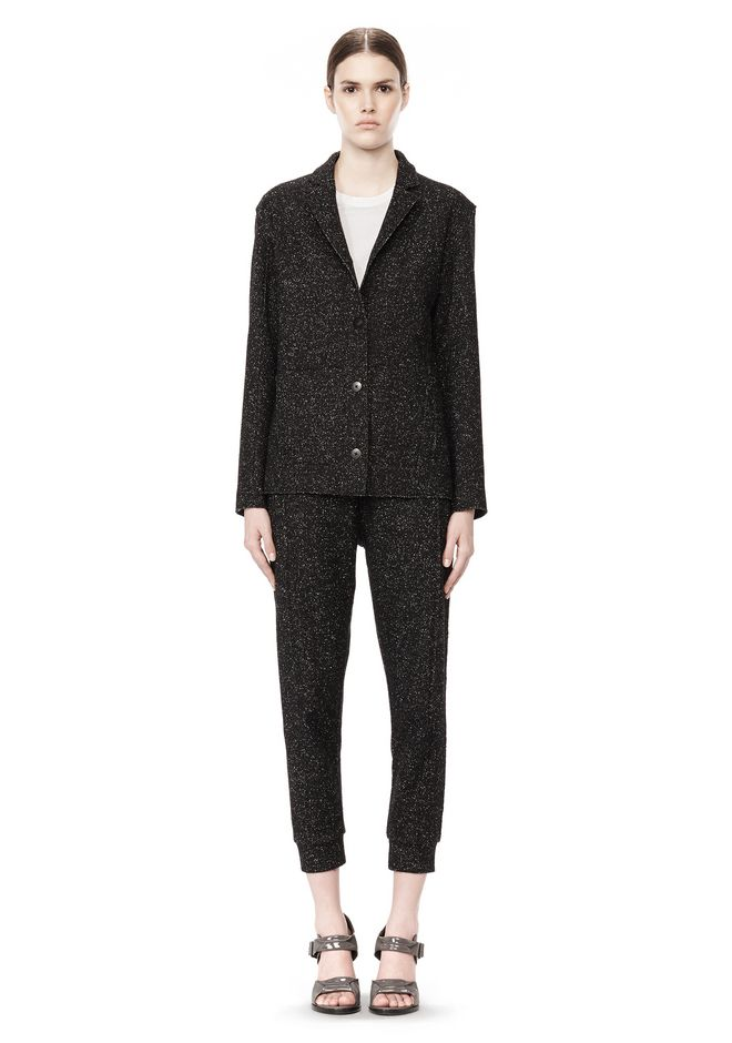 T by ALEXANDER WANG BOUCLE FLEECE SOFT BLAZER JACKETS AND OUTERWEAR  Adult 12_n_f