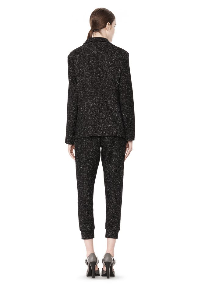 T by ALEXANDER WANG BOUCLE FLEECE SOFT BLAZER JACKETS AND OUTERWEAR  Adult 12_n_r