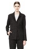 T by ALEXANDER WANG BOUCLE FLEECE SOFT BLAZER JACKETS AND OUTERWEAR  Adult 8_n_d
