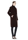 T by ALEXANDER WANG MOHAIR ALPACA WOOL FELT LONG CAR COAT JACKETS AND OUTERWEAR  Adult 8_n_e