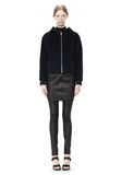 T by ALEXANDER WANG MOAHIR ALPACA WOOL FELT HOODED JACKET Jacket Adult 8_n_f