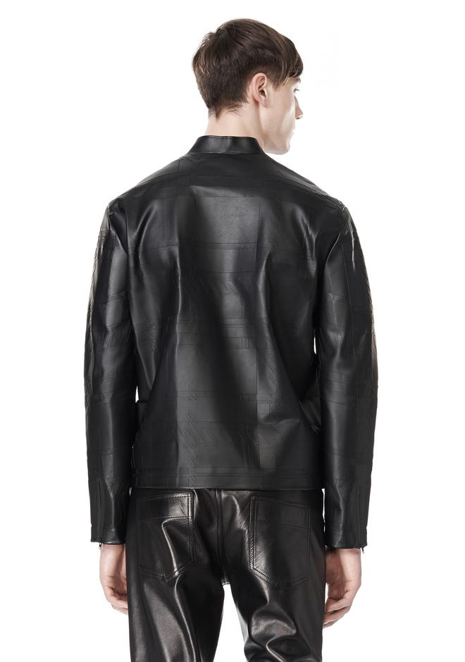 ALEXANDER WANG LASER CUT BONDED BOMBER JACKETS AND OUTERWEAR  Adult 12_n_d