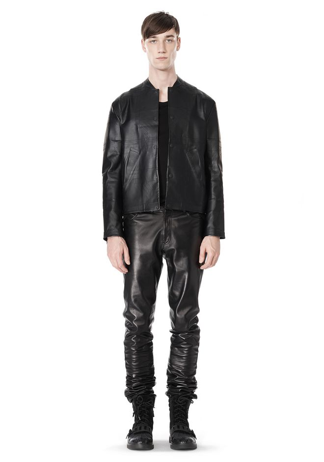 ALEXANDER WANG LASER CUT BONDED BOMBER JACKETS AND OUTERWEAR  Adult 12_n_f