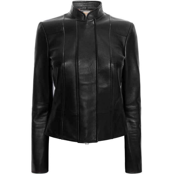 Heavy Glove Leather Jacket Alexander McQueen | Leather | Jackets