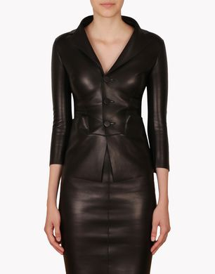 DSQUARED2 Leather outerwear D S73BN0206SX8131 f