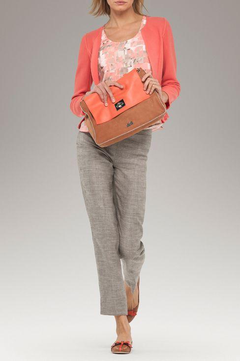 PEPLUM JACKET IN CRÊPE: One button jackets Women by Armani - 2