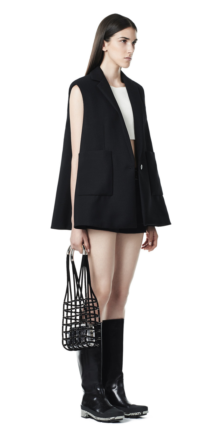 Balenciaga Trapeze Sleeveless  Jacket