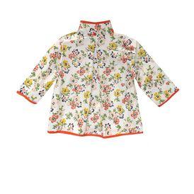 STELLA McCARTNEY KIDS, Outerwear, DANDELION FLORAL RAINCOAT
