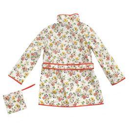 STELLA McCARTNEY KIDS, Outerwear, POLLY FLORAL RAINCOAT
