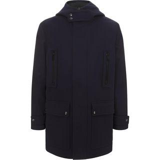 ALEXANDER MCQUEEN, Coat, Back Stripe Parka