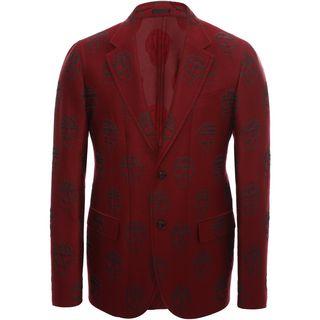 ALEXANDER MCQUEEN, Suit jacket, 2 Button Deconstructed Jacket