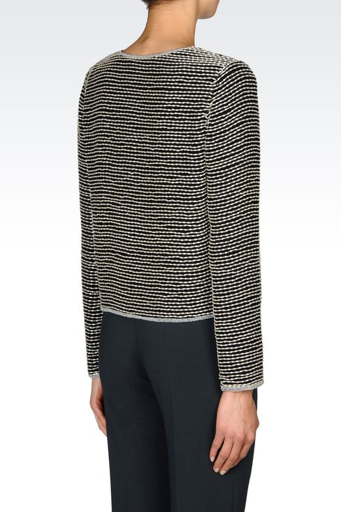 EMBROIDERED EVENING JACKET: Dinner jackets Women by Armani - 3