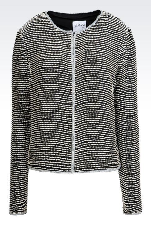 EMBROIDERED EVENING JACKET: Dinner jackets Women by Armani - 1