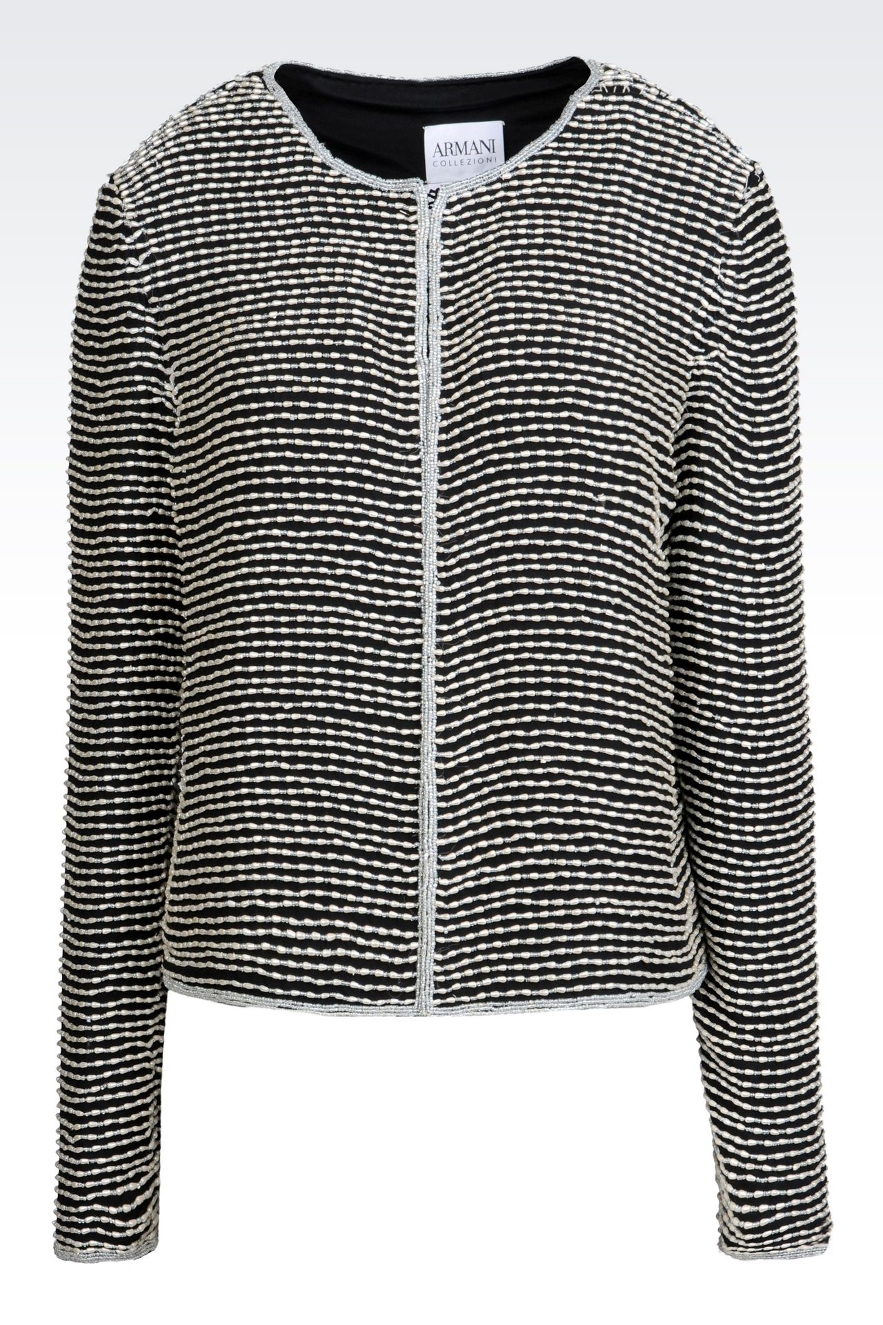 EMBROIDERED EVENING JACKET: Dinner jackets Women by Armani - 0