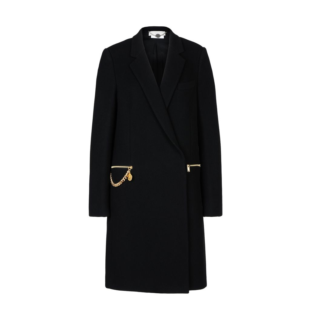 Black Eveline Coat