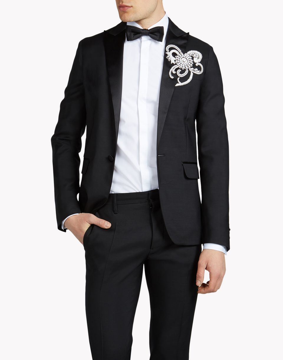 embroidered tokyo tux jacket coats & jackets Man Dsquared2