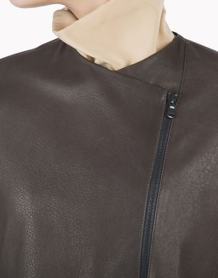 BRUNELLO CUCINELLI MPMUP2610P Leather outerwear D d