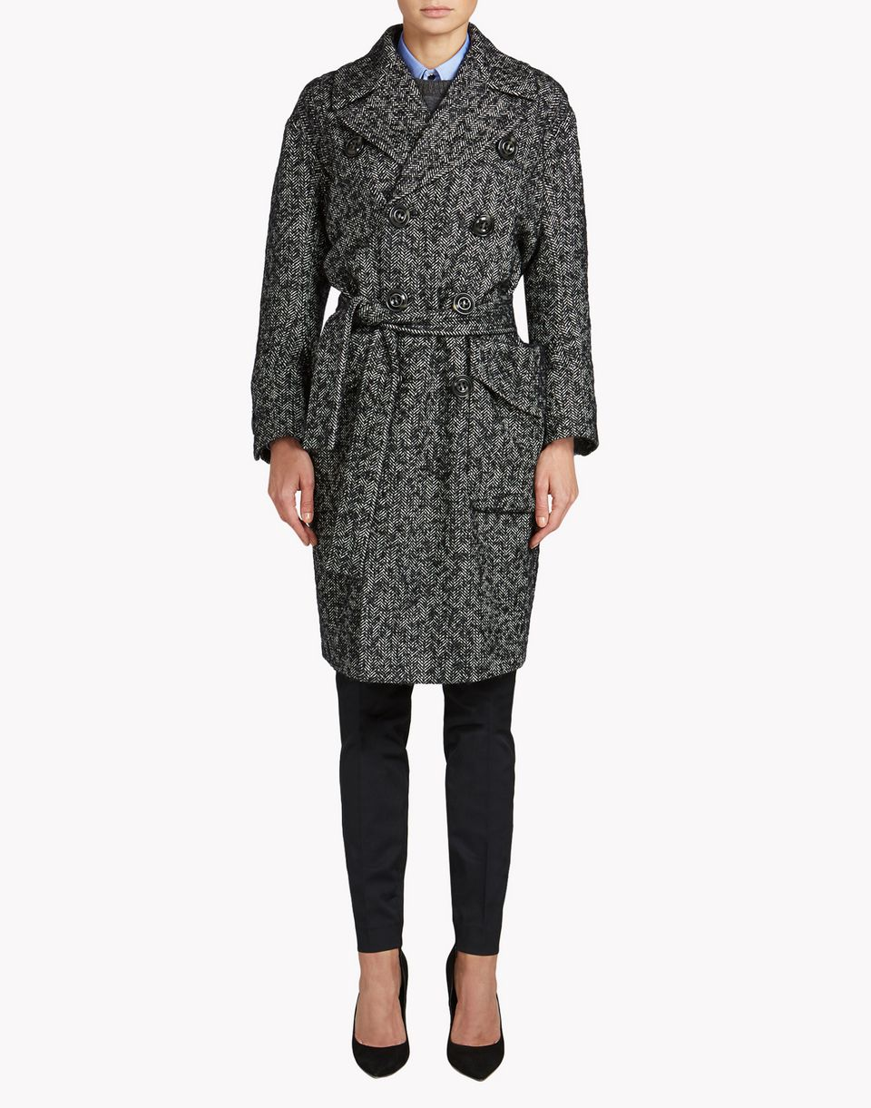 svetana trench coat coats & jackets Woman Dsquared2