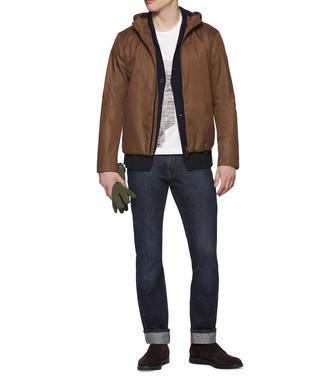 ZZEGNA: Fabric Jacket  - 41567219KV
