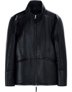 00121 HARRINGTON _ BONDED LEATHER/INTERLOCK