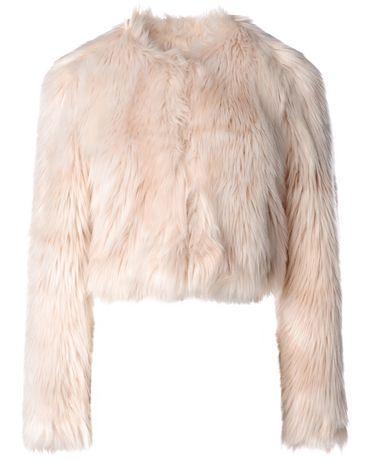 REDValentino Faux fur jacket