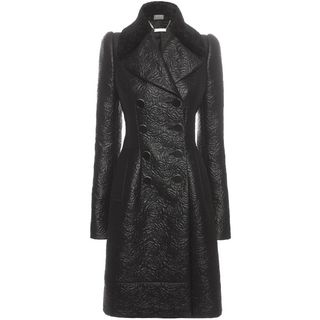 ALEXANDER MCQUEEN, Coat, Small Flowering Roses Double Breasted Coat
